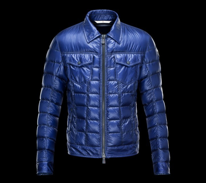 New Cheap Moncler Men Jackets Blue Sale NA1036